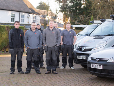 Our fully qualified team of Central Heating Engineers